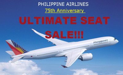PAL Ultimate 75th Anniversary Seat Sale PROMO 2016 to 2017