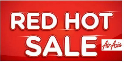 Get the Air Asia RED HOT SALE 2017 to 2018 NOW