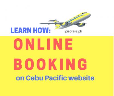 LEARN HOW to Buy Ticket in Cebu Pacific Website (2018 Update)