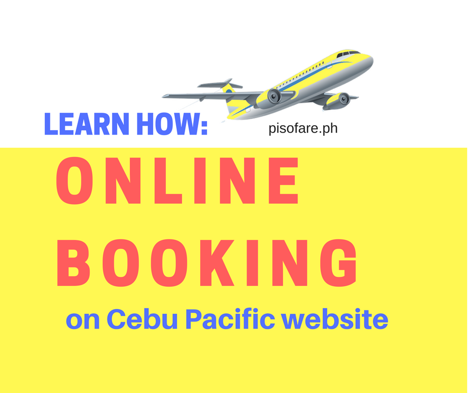 Guide cebu pacific ticket website online booking
