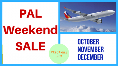 Philippine Airlines Promo Fare 2017: September to December