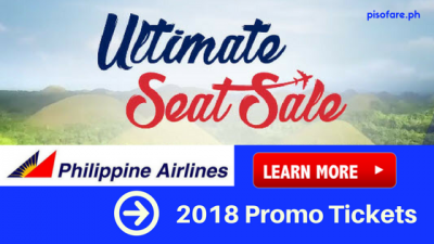 Philippine Airlines ULTIMATE SEAT SALE 2018
