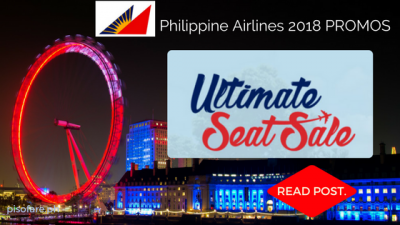 Philippine Airlines ULTIMATE Seat Sale 2017 up to 70% OFF