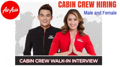 Be a Cabin Crew Member at Air Asia