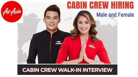 job opening cabin crew air asia