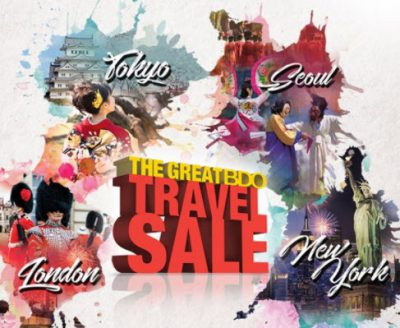 Visit the Great BDO Travel Sale 2018