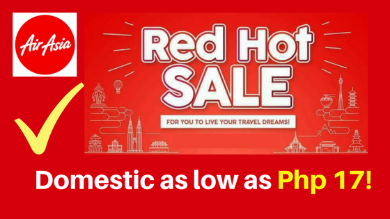 air asia red hot promo 2018 to 2019