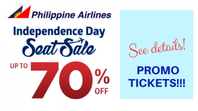 Philippine Airlines Independence Day Seat Sale 2018 Promo Fare